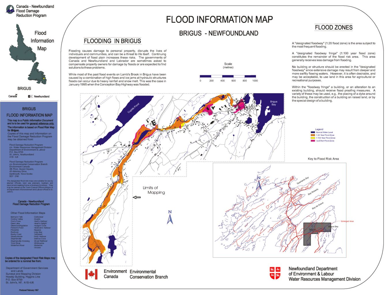 Flood Risk Mapping Stu s Public Information Maps